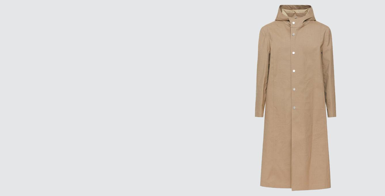 1017 ALYX 9SM Mackintosh Hooded Coat Tan