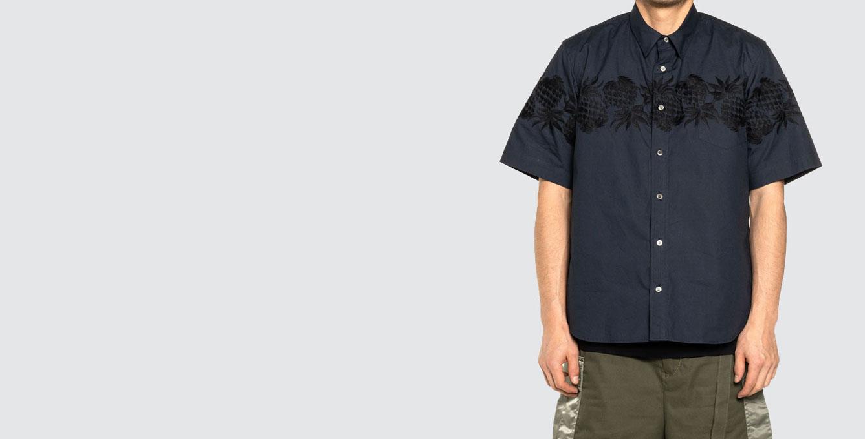 Sun Surf / Pineapple Shirt Navy