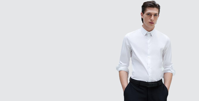 Basic Super Slim Fit Shirt