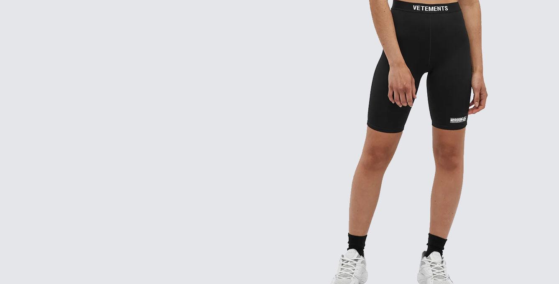 Vetements Logo Cycling Shorts
