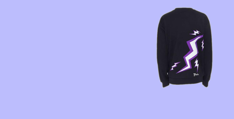 Prada 19 Frankenstein Thunder Sweatshirt