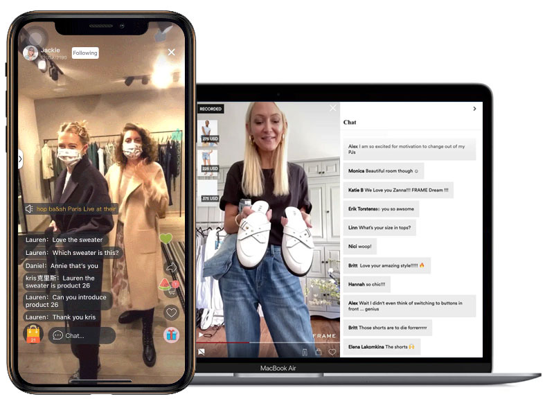 Live Chat Commerce