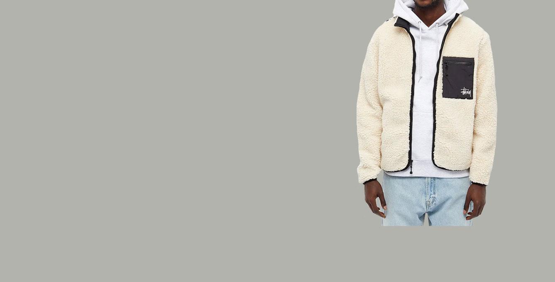 Stussy Venus Jacquard Sherpa Jacket