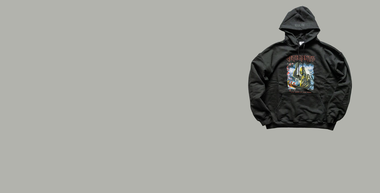 Vetements – Bloody Logo Heavy Meta...