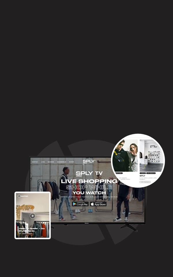 SPLY TV Live Shopping